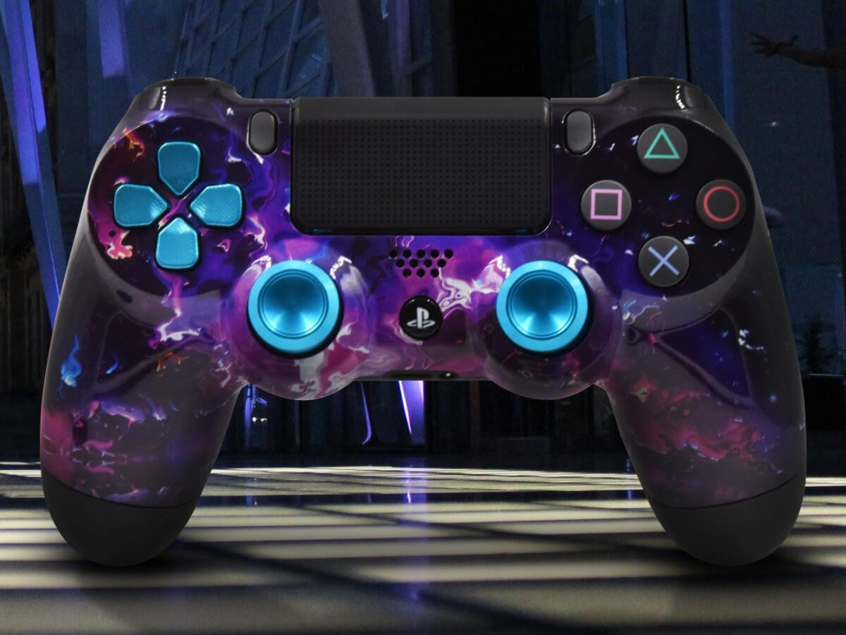 custom playstation 4 controller with skins